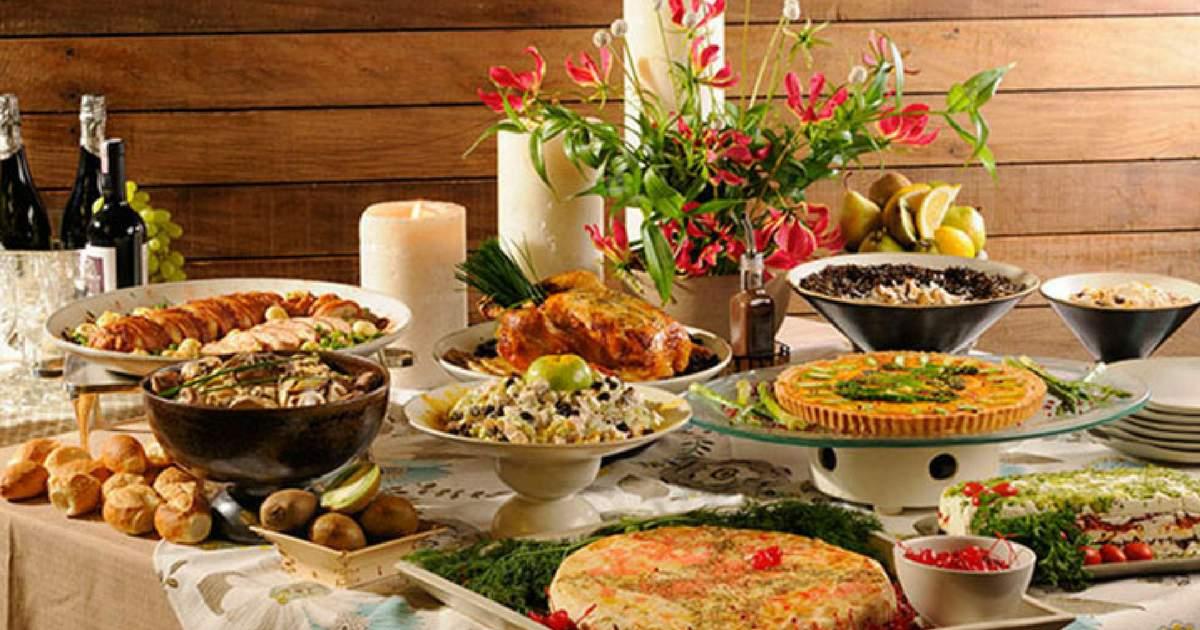 10 dicas para organizar mesa da ceia de festas de fim de ano