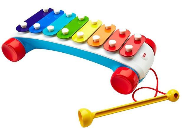 Xilofone Infantil Fisher Price CMY09 - Mattel - - - Magazine Luiza