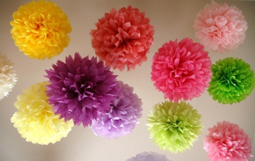 Resultado de imagem para Bolas de papel de seda