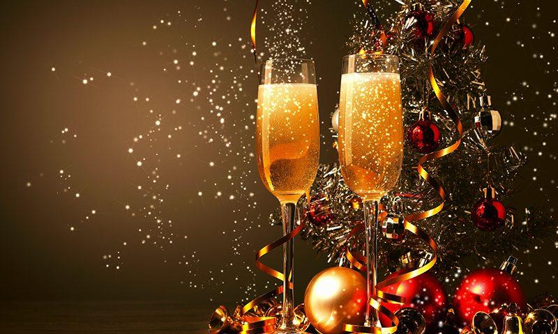 Evento de Natal e Ano Novo em uma só festa