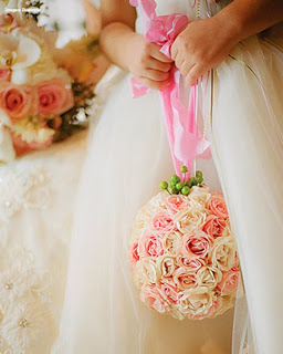 Buque de bola de flores