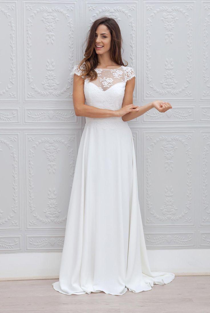 Modelo de vestido de noiva longo