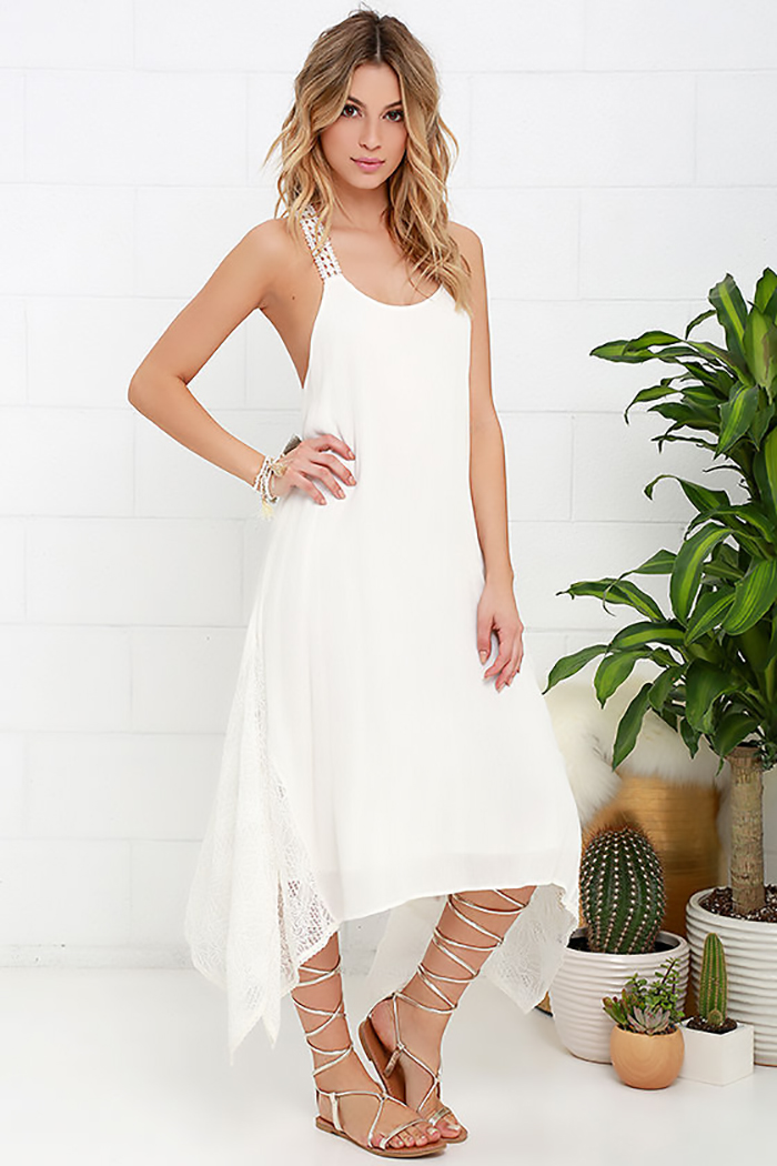 Vestido de noiva despojado para casamento civil