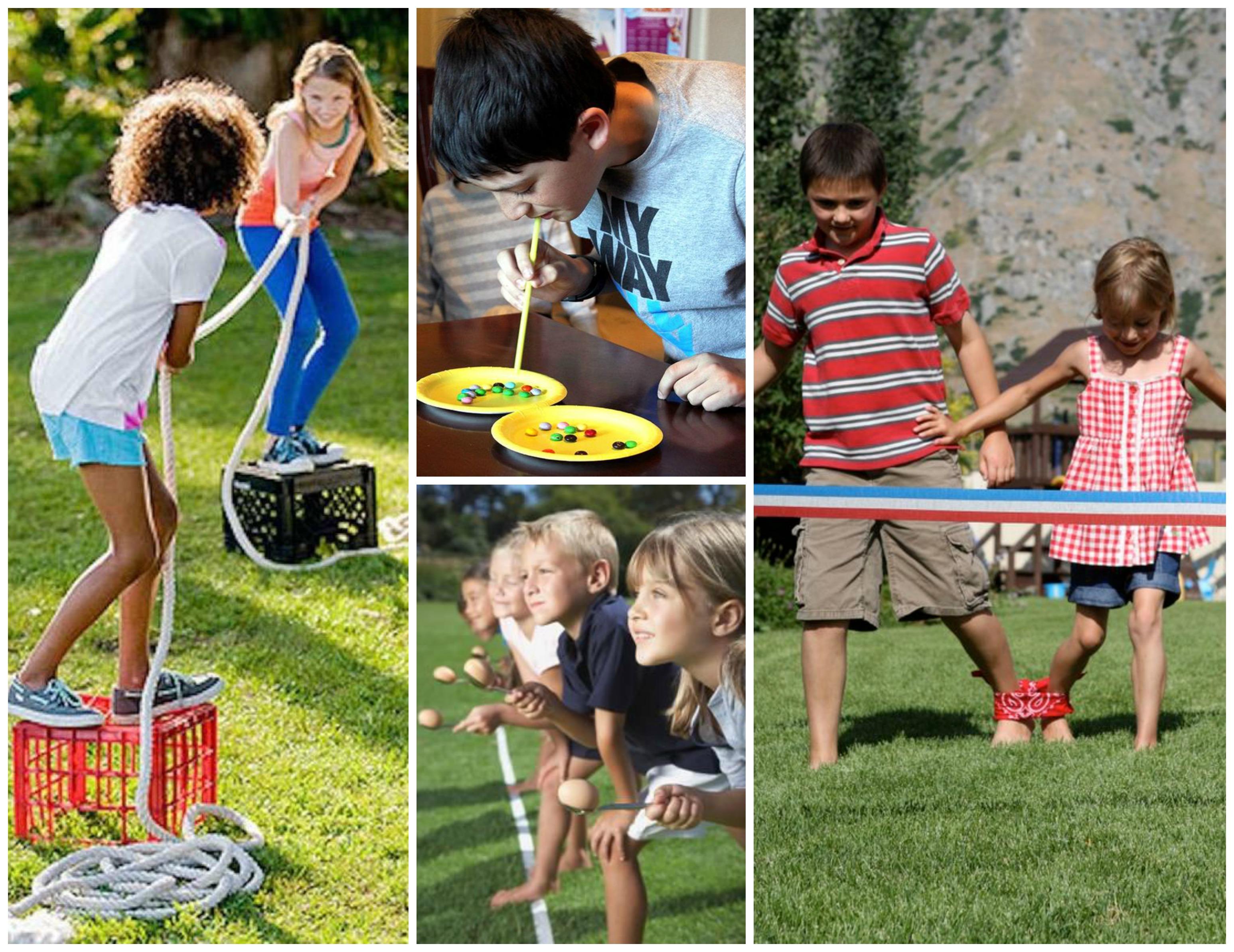 Brincadeiras recreativa para crianças na festa infantil