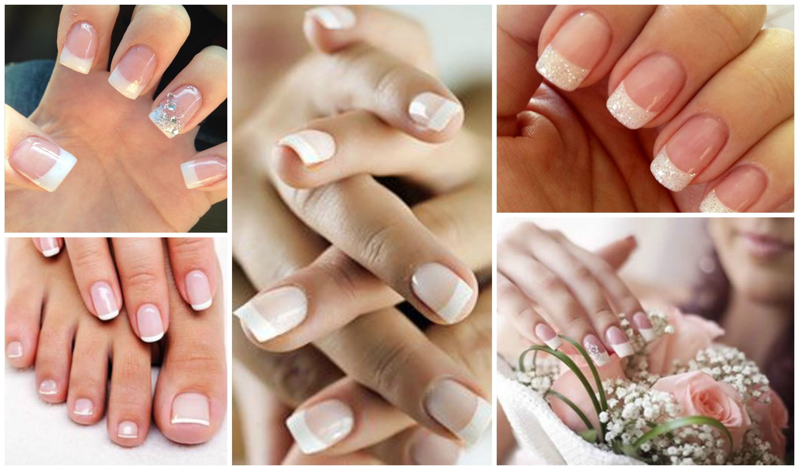 Ideias de francesinhas de unhas para as noivas