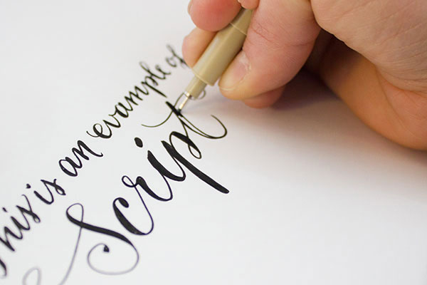 Curso de caligrafia artística