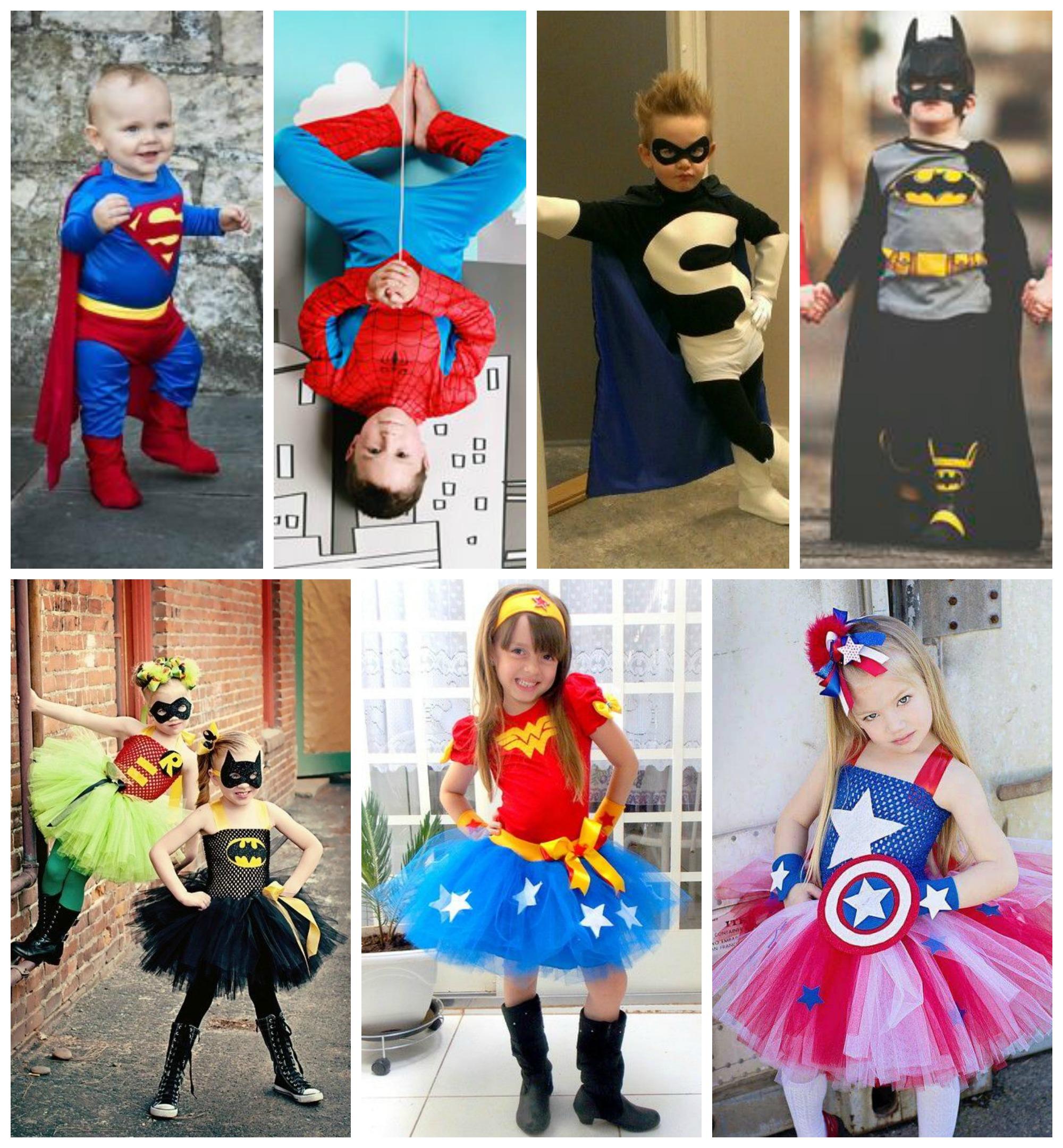 Dicas de fantasias de super heróis para crianças