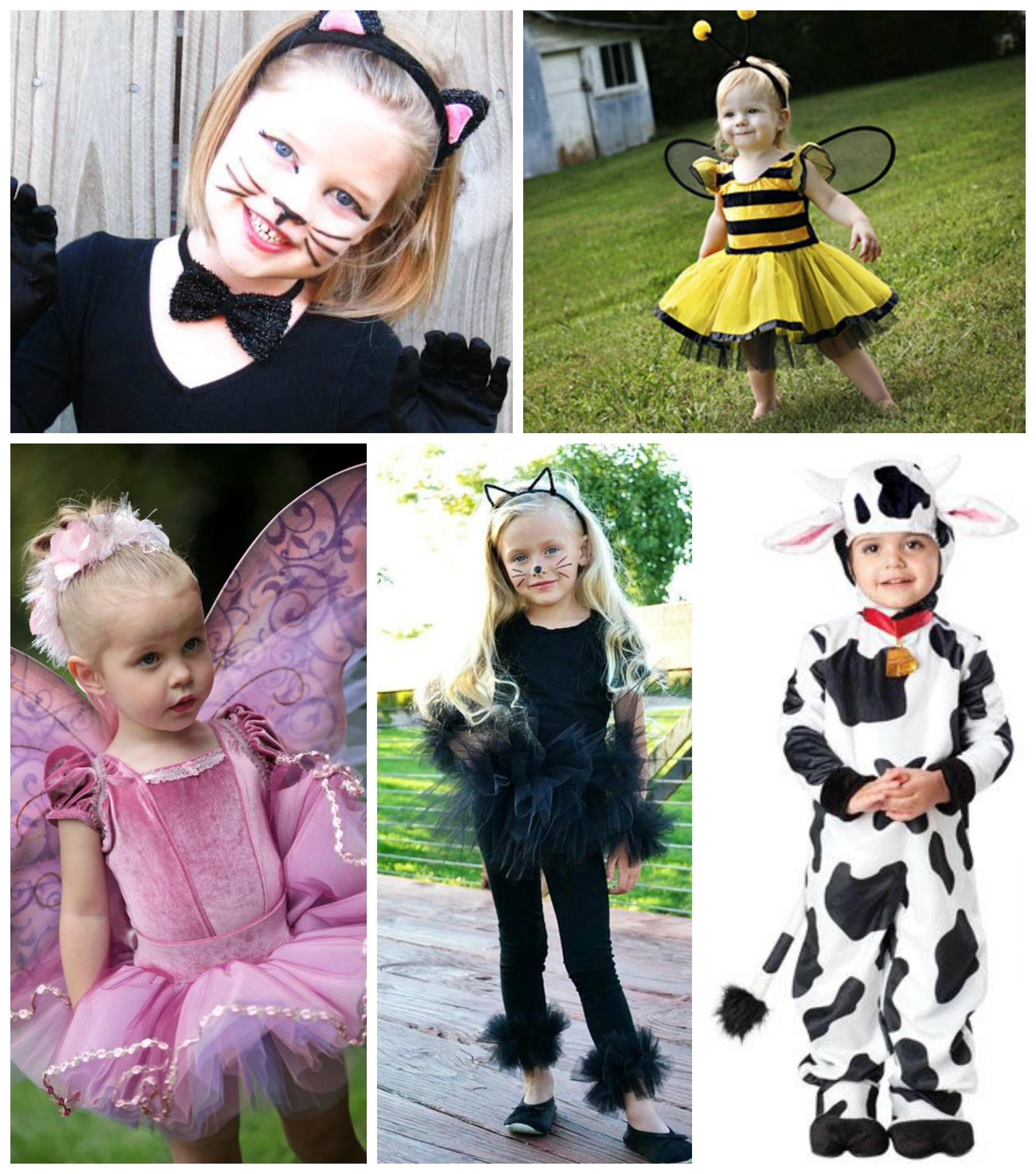 Fantasias de animais para as crianças no Carnaval