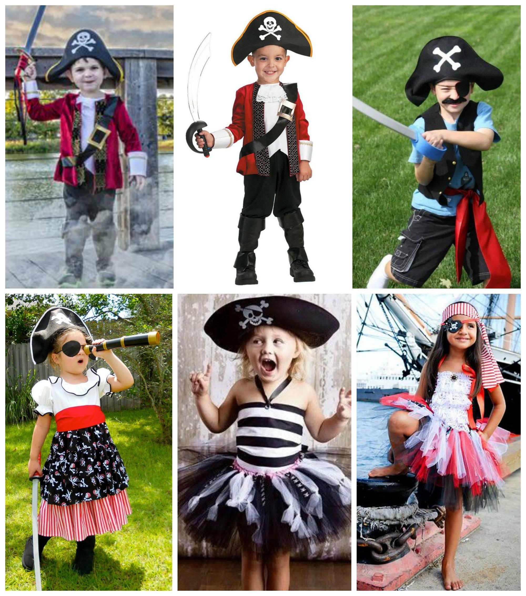 Dicas de fantasias de pirata