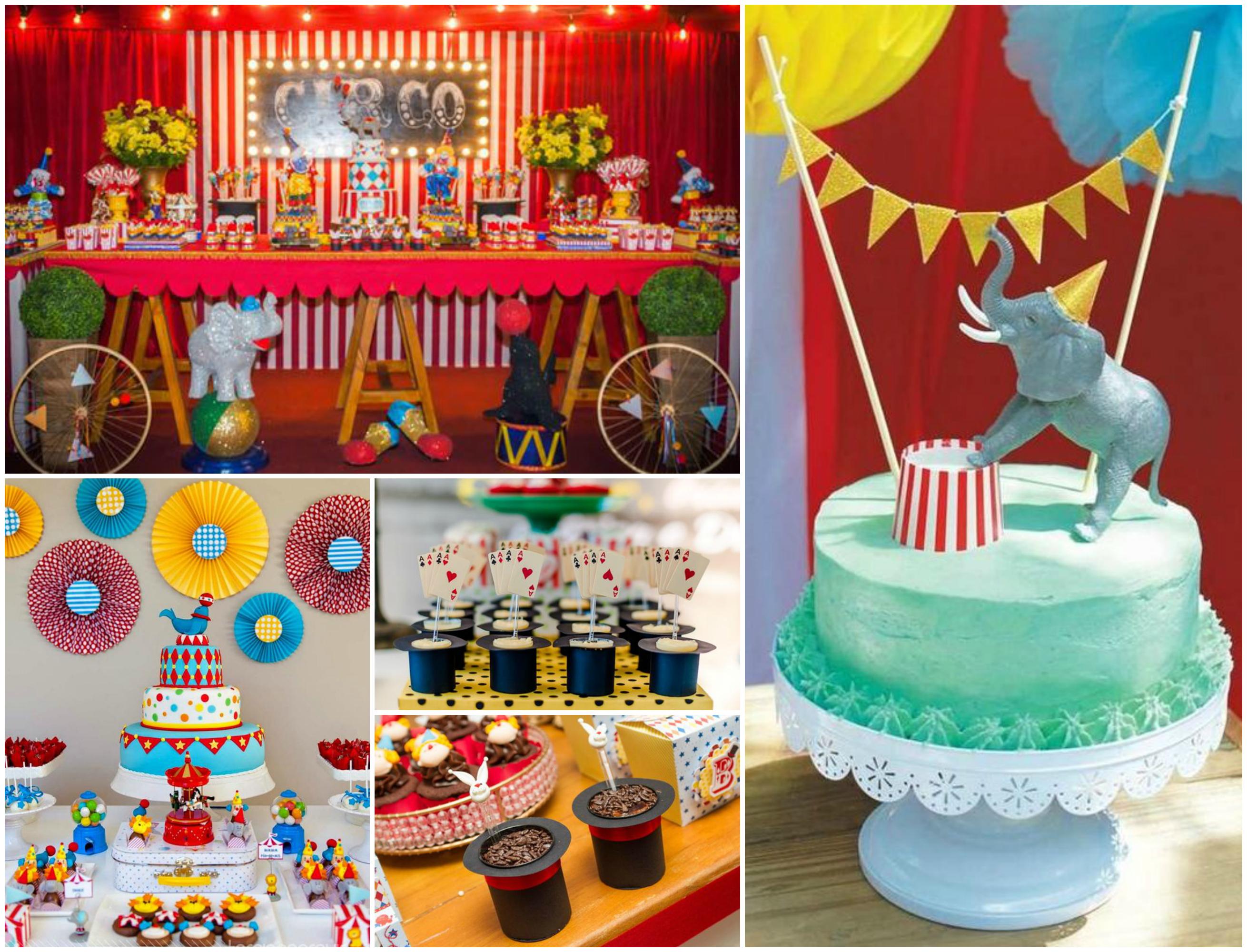Decoração de Festa Infantil Com o Tema Circo