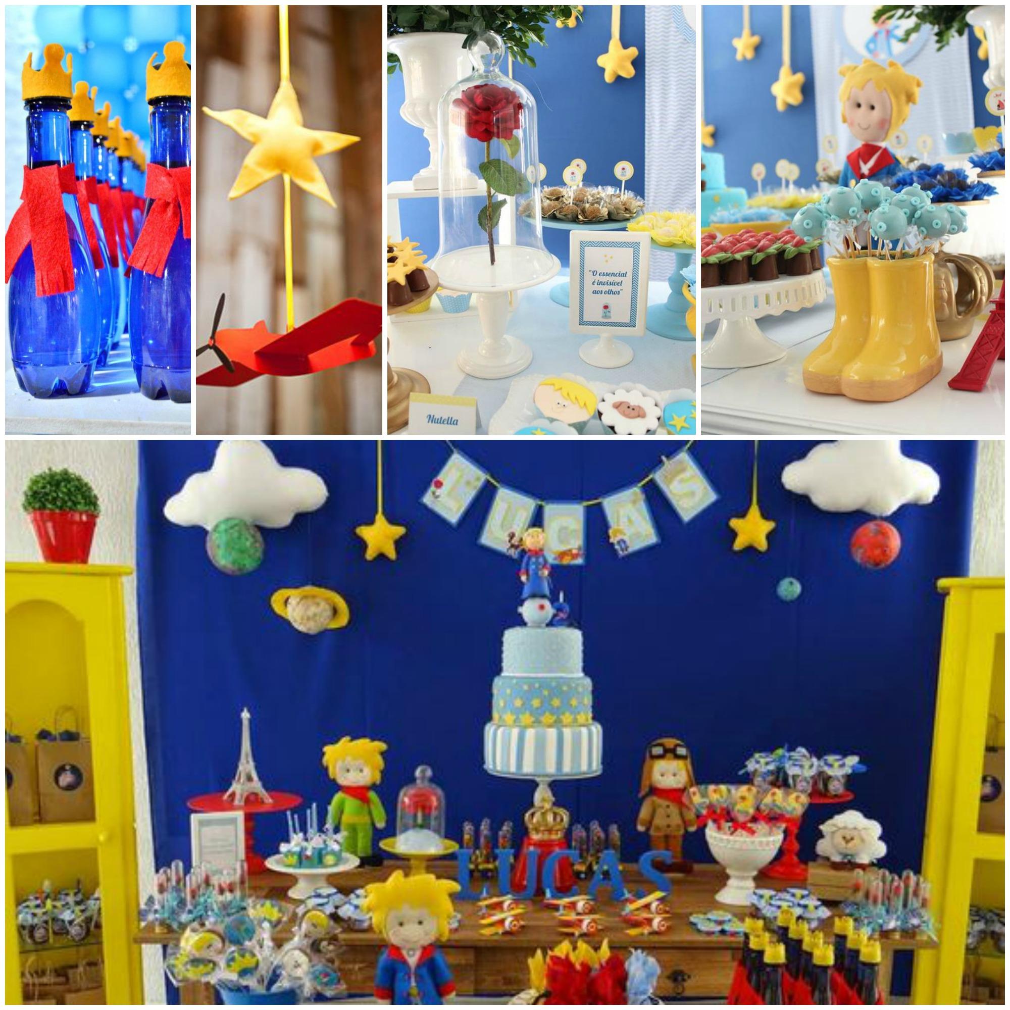 Decoração de Festa Infantil com o Tema Pequeno Príncipe