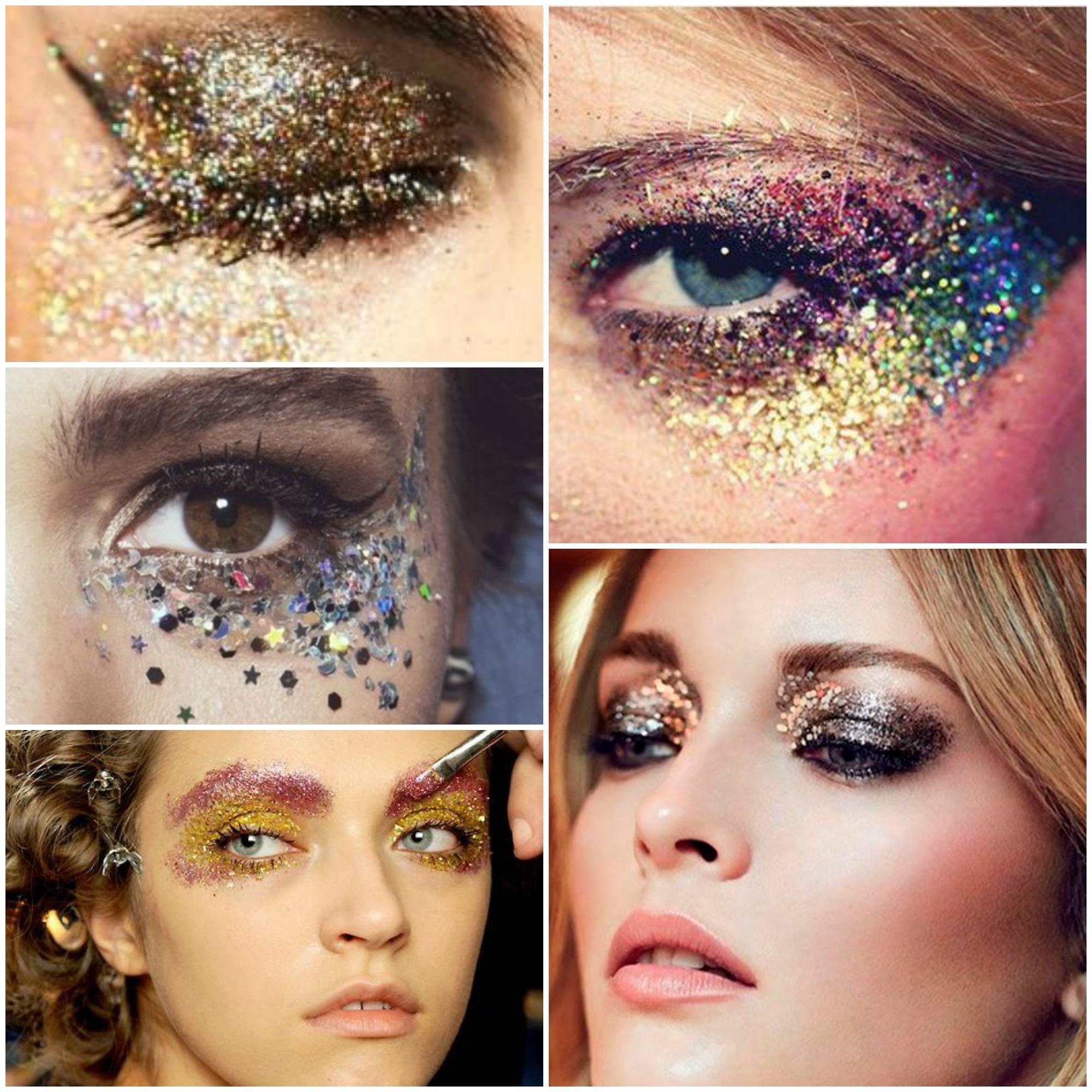 Dicas da maquiagem de Carnaval com glitter