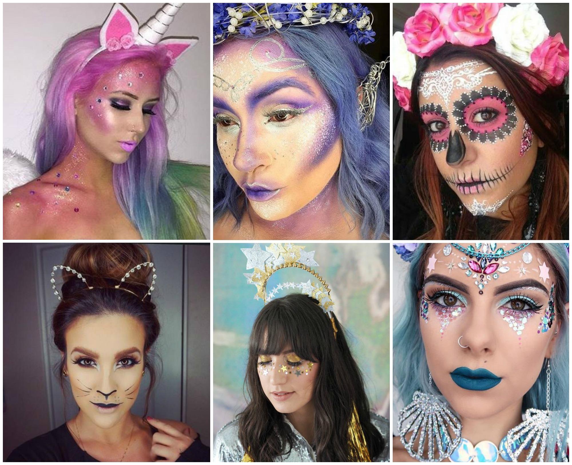Maquiagem de Carnaval temática
