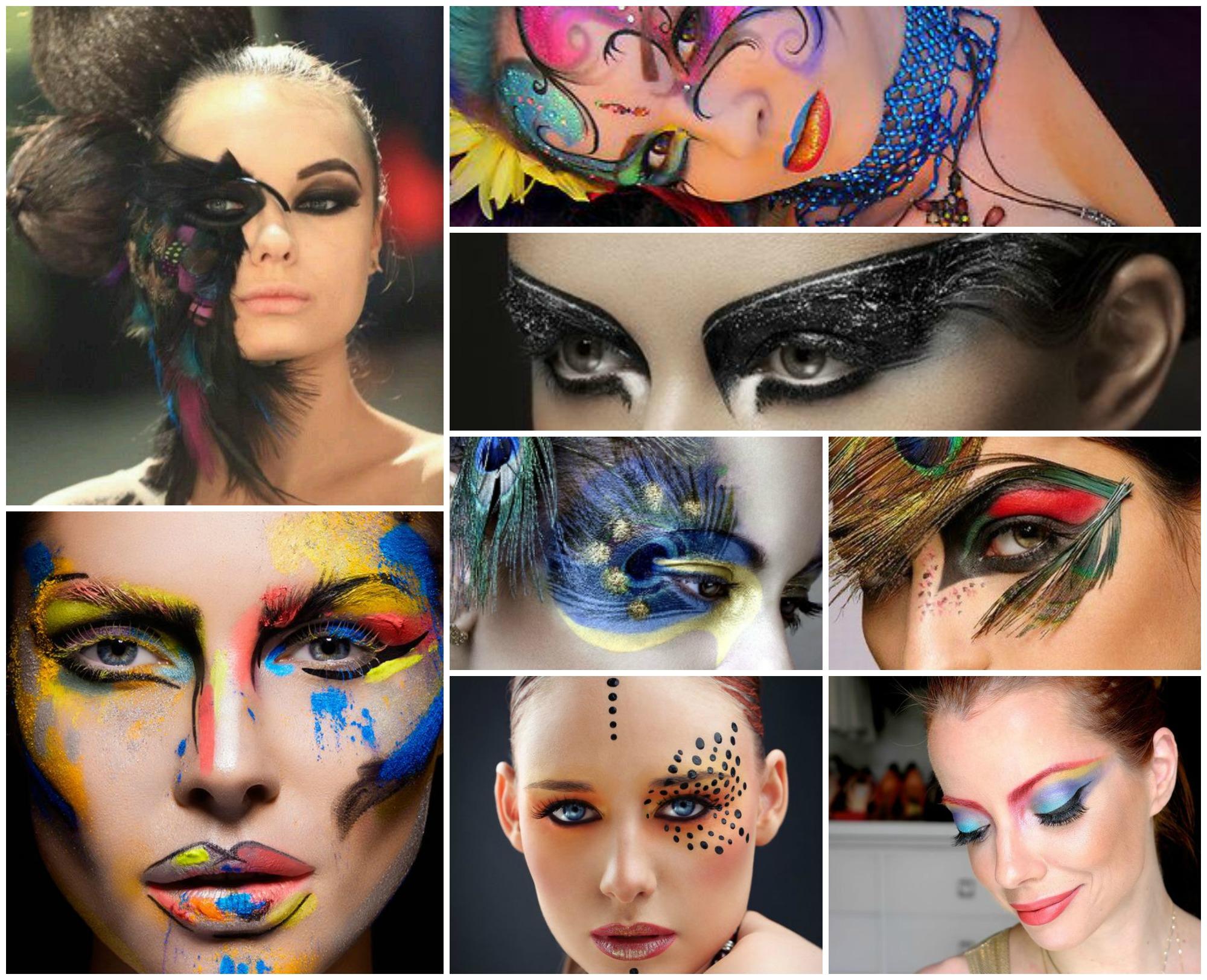 Outras ideias para maquiagem de Carnaval