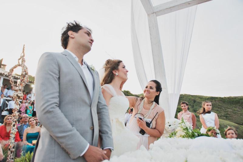 Cerimonialista em casamento