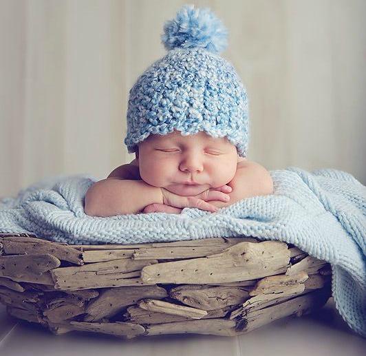 Ensaio newborn com bebê dormindo