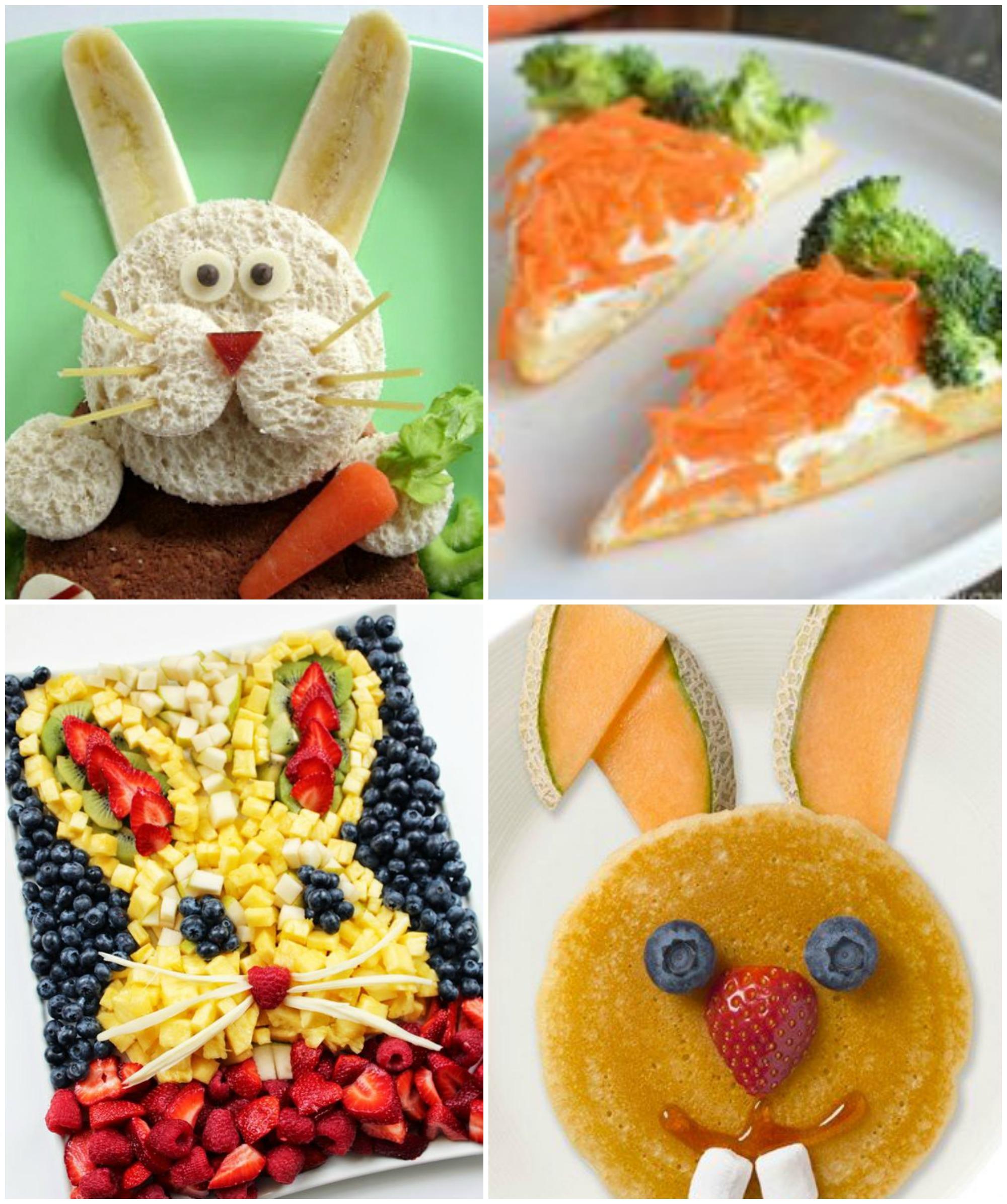 Ideias de comida enfeitada para a Páscoa