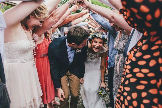 Casamento e amigos