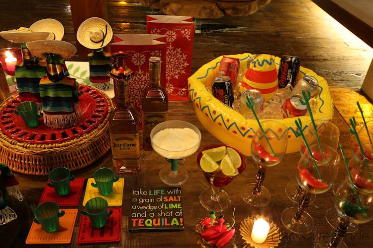 Ambiente mexicano para festa de formatura