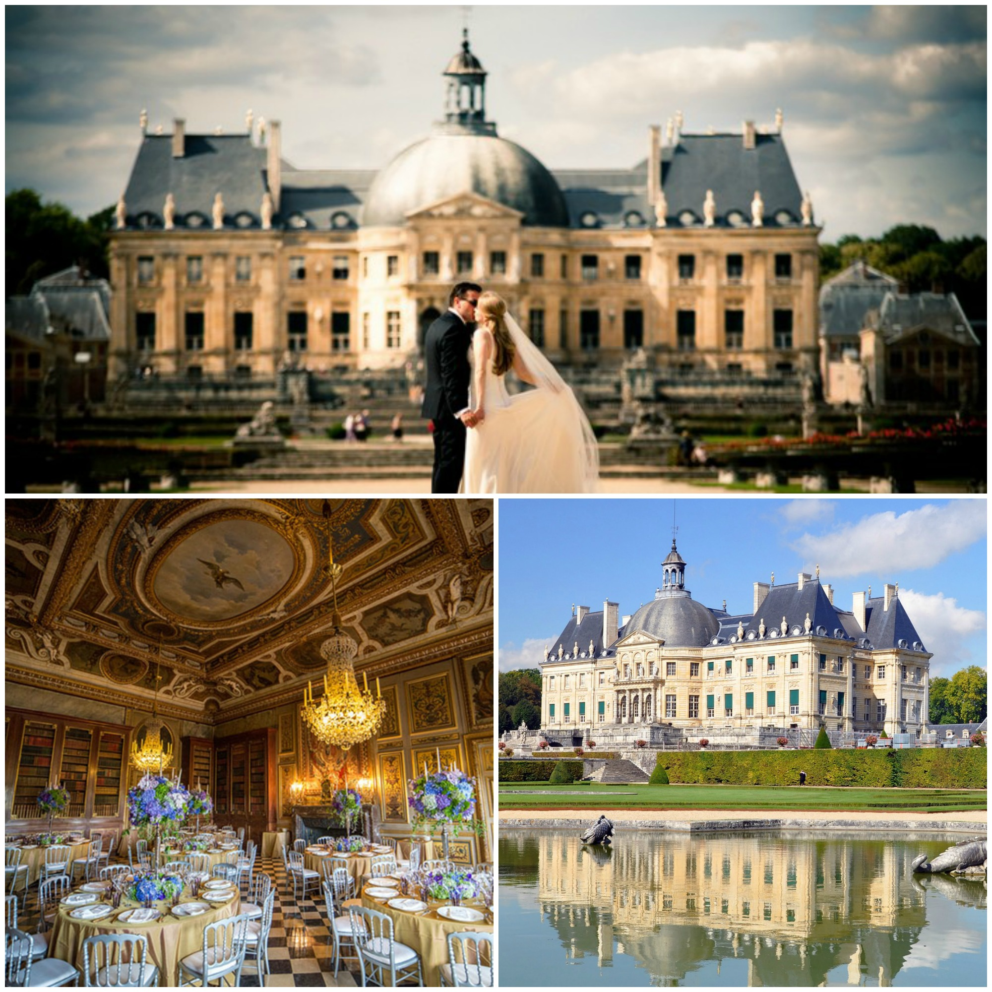 Chateaux Vaux-le-Vicomte - Maincy, França