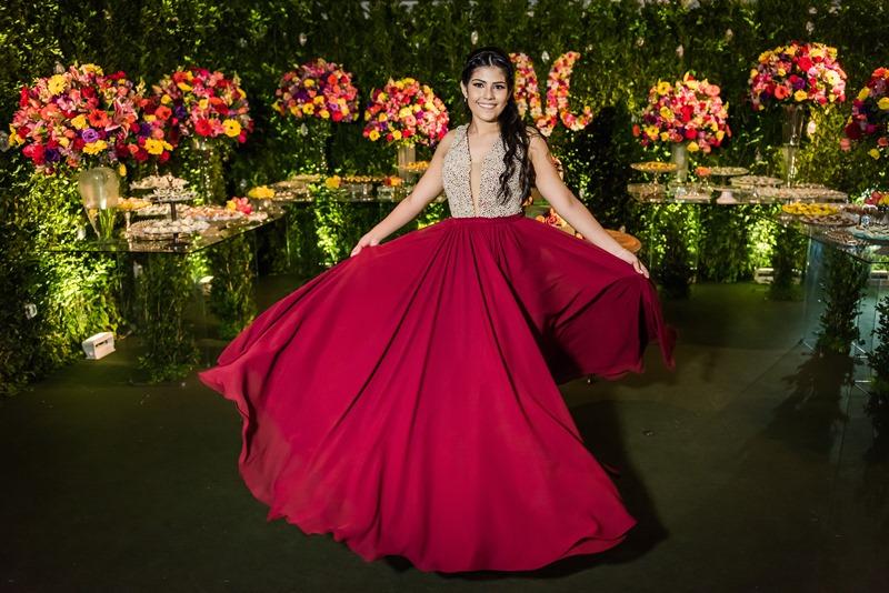 Vestido da debutante