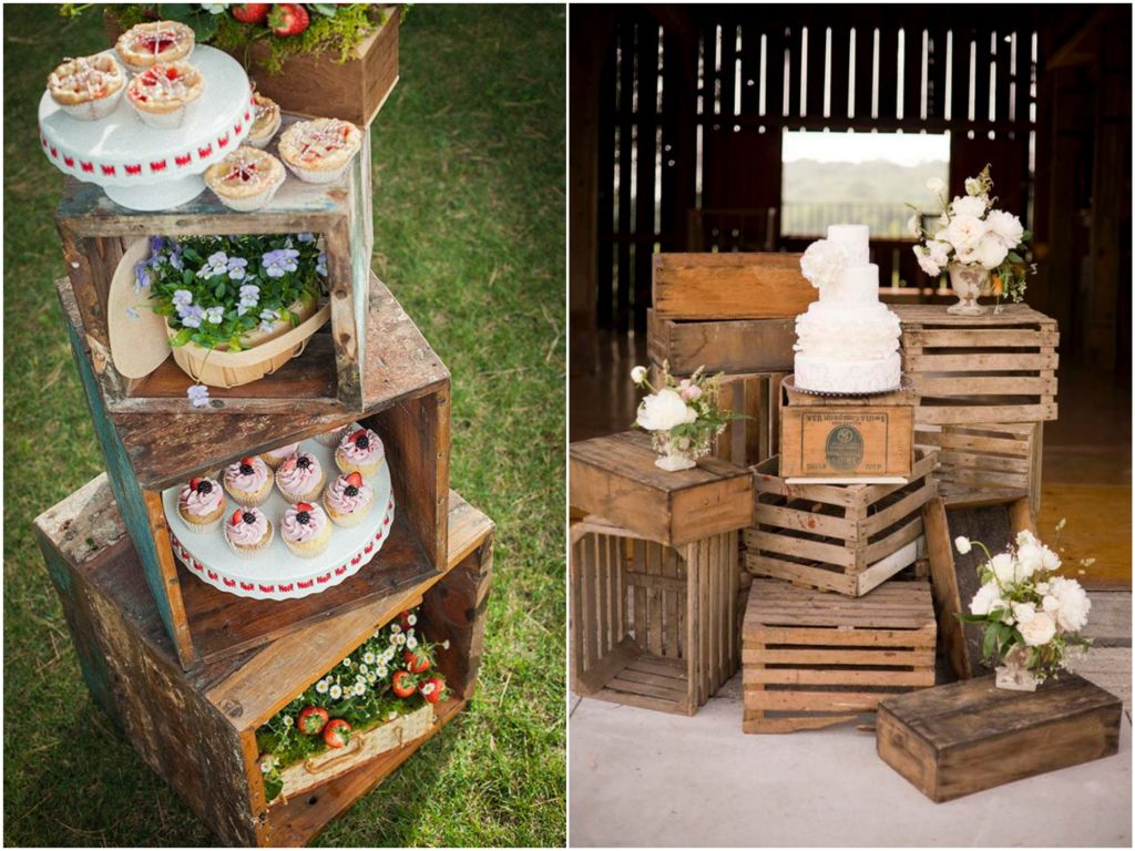 5 Dicas para usar decoração de madeira em eventos