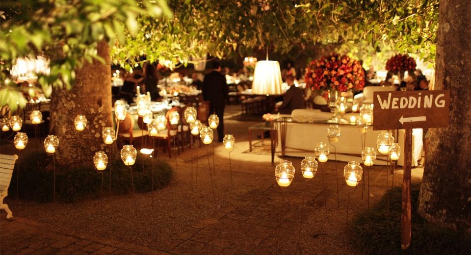 Dicas de iluminação para uma festa perfeita