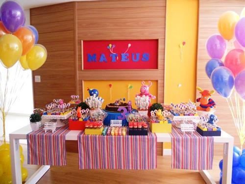 Dicas para mesas de festas infantis