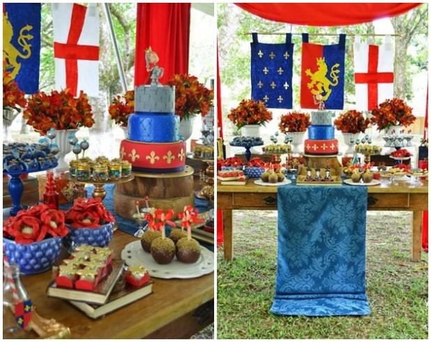 Temas de festa: Medieval