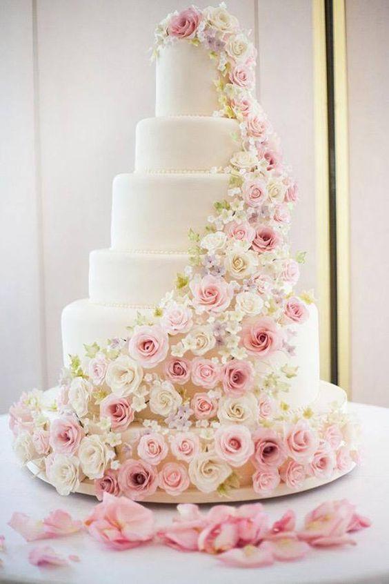 Ideias para bolo de casamento especial
