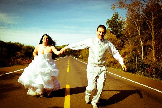 Ideias criativas para álbuns de casamento