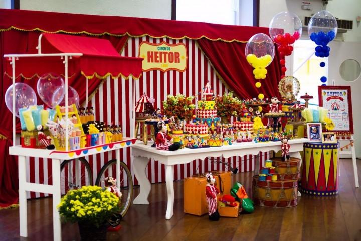 Dicas para organizar evento com tema de circo