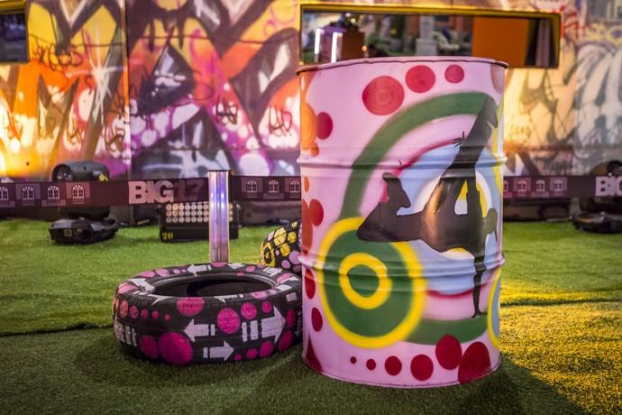 Dicas de festa com decoração Street Art