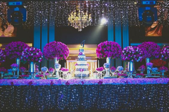 Dicas de festa com decoração luxuosa