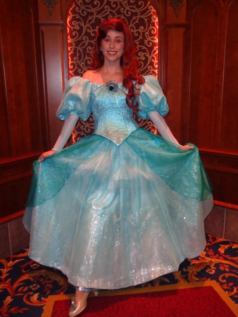 Personagens vivos incríveis: princesas Disney