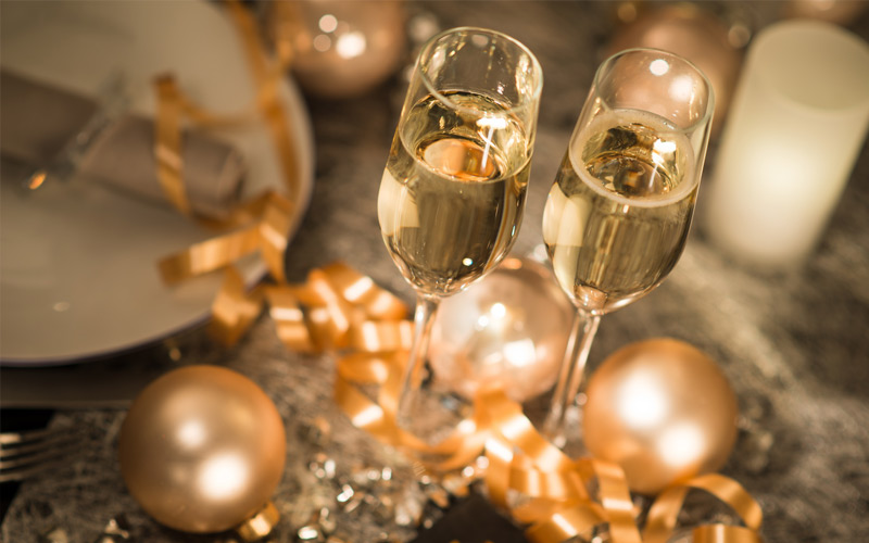 Dicas de como usar taças em festas de fim de ano