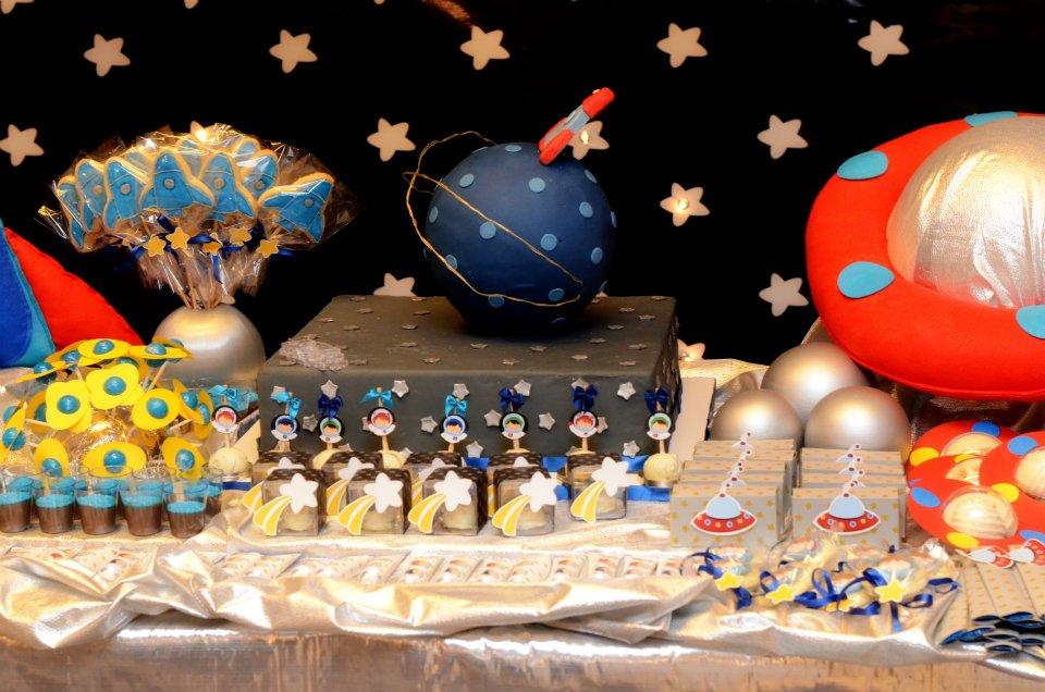 Temas de eventos incríveis: Festa no espaço