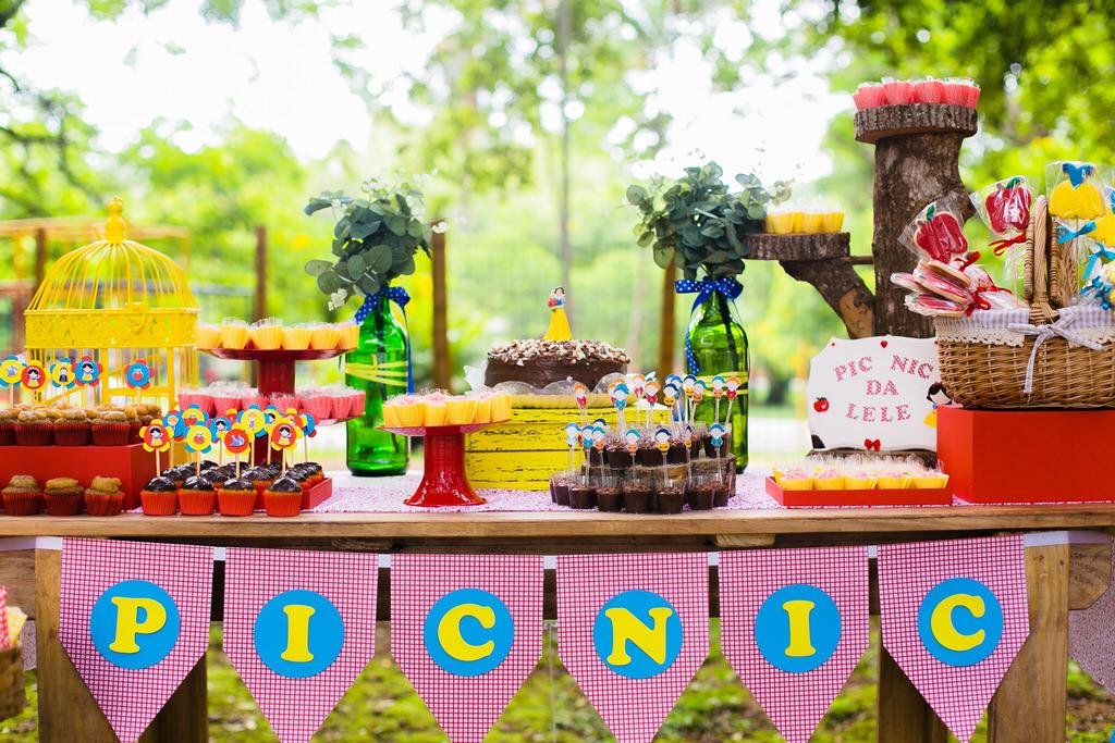 4 Dicas para decorar eventos: piquenique