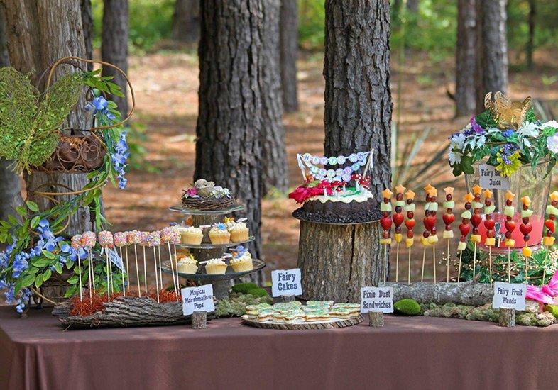 Temas de eventos incríveis: festa Floresta