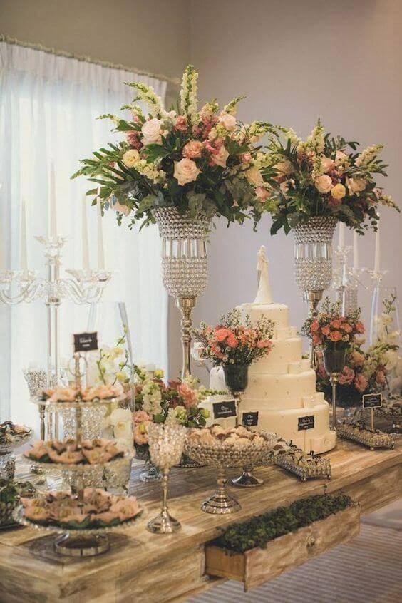 Dicas de decoração de casamento 2019 em alta