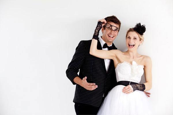 Ideias de Casamento incríveis: Estilo rock