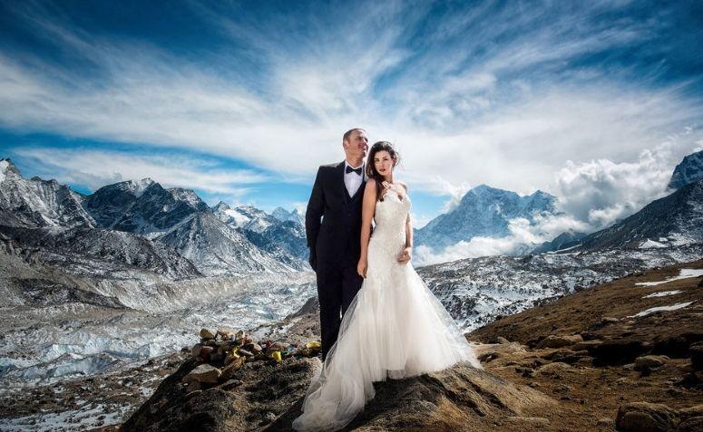 Ideias para casamento incríveis: - Casamento nas alturas