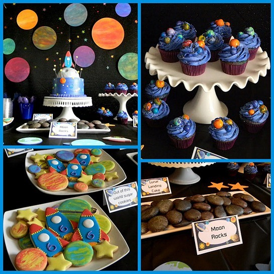 Temas de festas incríveis: aniversário no espaço