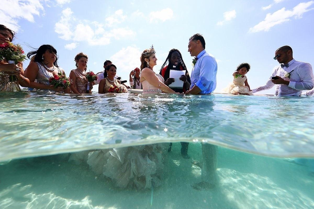 Ideias para eventos: casamento na água