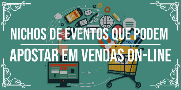 Áreas de eventos para apostar em vendas on-line