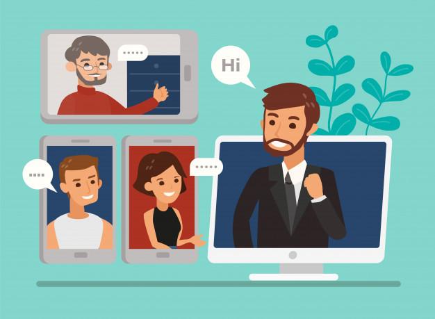 Conselhos para fazer uma boa reunião profissional on-line