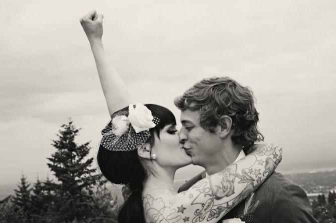 casamento rock
