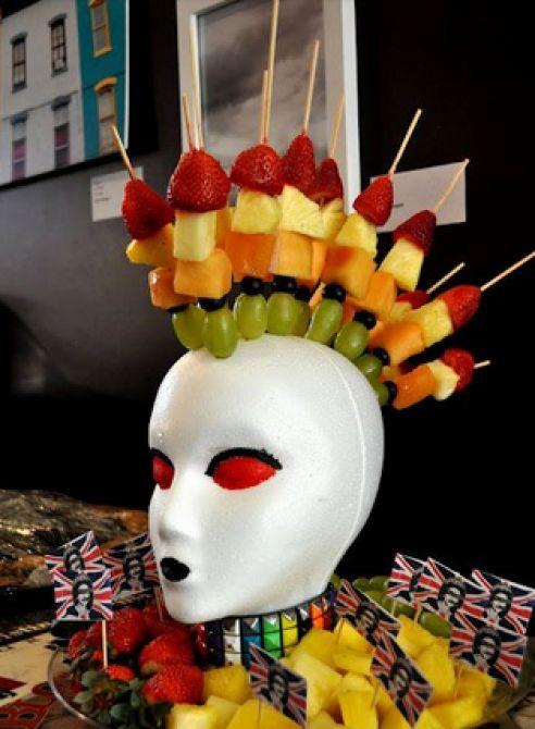 Decoração de festa da Peruca