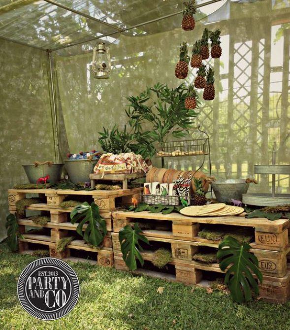 Buffet para Festa na Selva