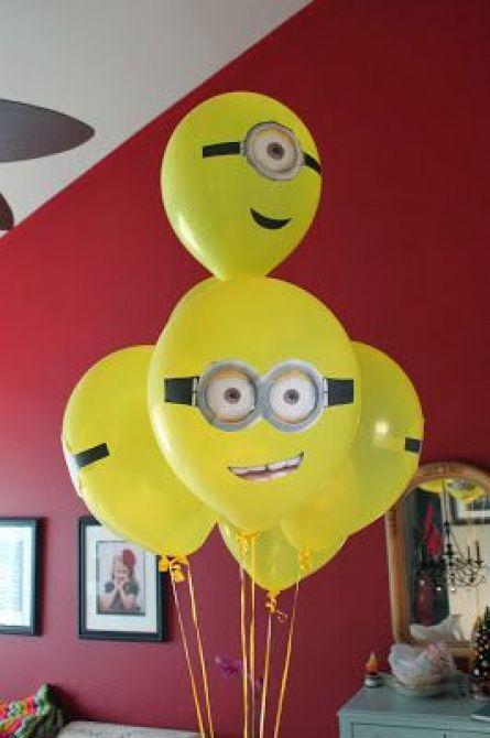 Balão de Minions